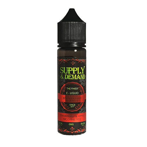 Supply & Demand Fantastic Strawberry and Apple Ice 50ml