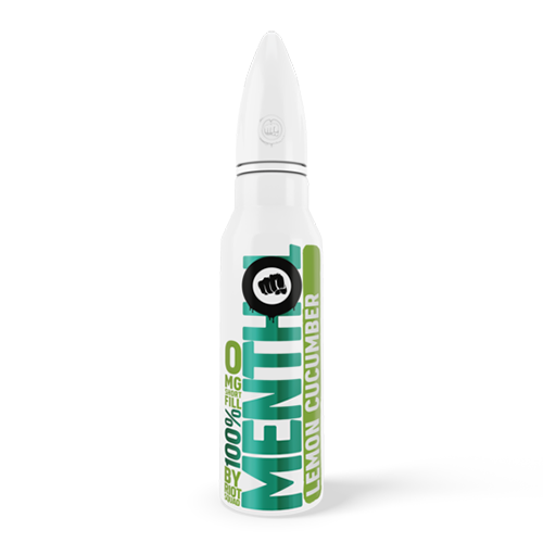 Riot Squad 100% Menthol - Lemon Cucumber 50ml