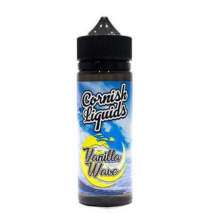 Cornish Liquids Vanilla Wave 100ml