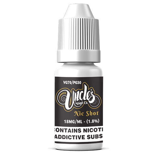 10ml Nic Shot 70VG/30PG 18mg