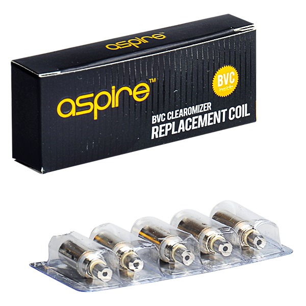 Aspire BVC Clearomiser Coils 1.8 Ohm