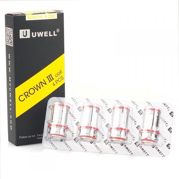 Uwell Crown 3 Coils 0.25 Ohm