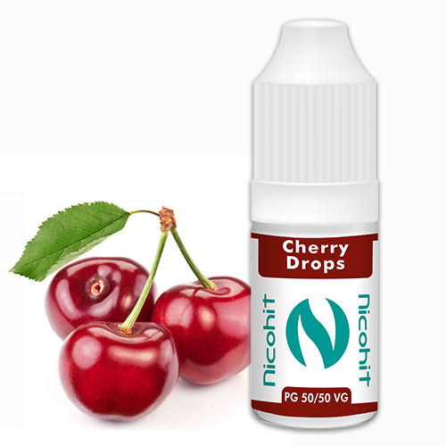 Nicohit Cherry Drops 10ml