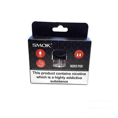 Smok Nord Replacement Pod & 2 Coils Pack
